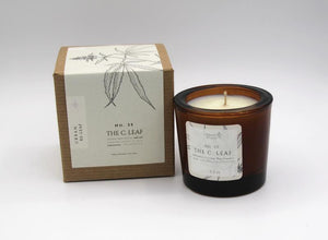 The C. Leaf Coconut Wax Candle