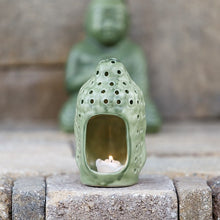 Garden Age Supply Buddha Head Candle Lantern