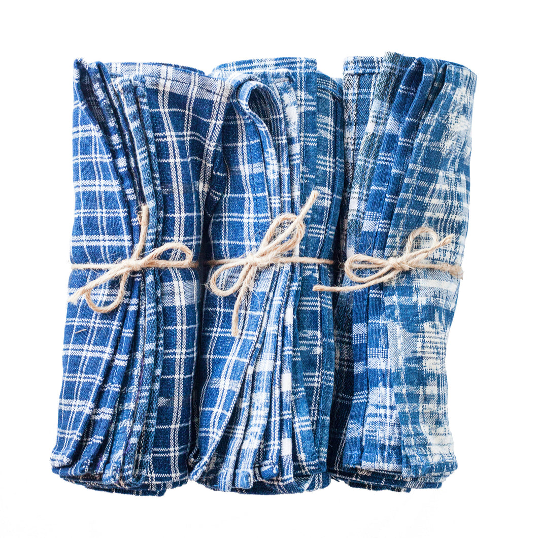 The Global Trunk - TOTO Indigo Napkins