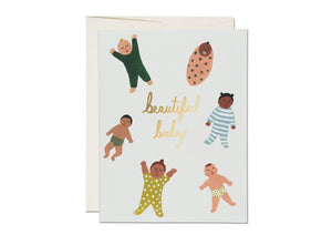 Red Cap Cards - Beautiful Baby