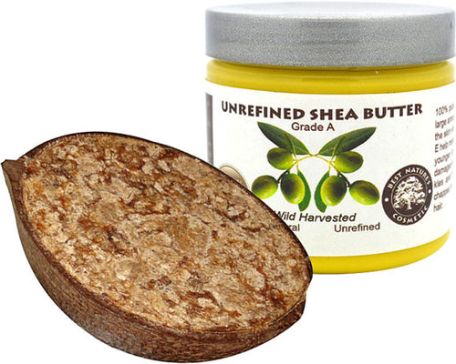 Set of Pure shea butter unrefined 4oz / 120 ml and