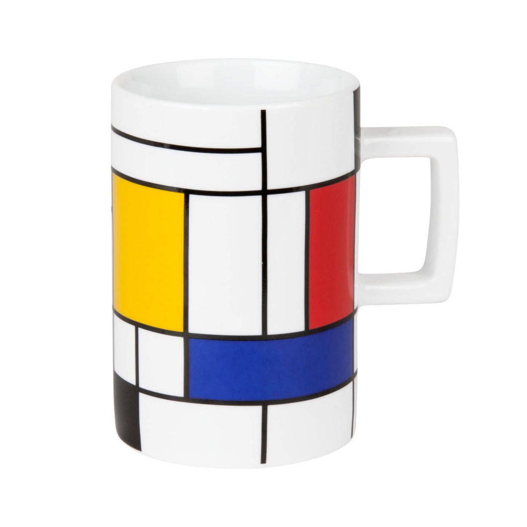 Homage To Mondrian Mug