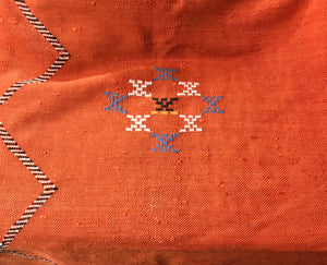 Moroccan floor or Bed Cover- Berber