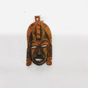 Hand-Painted Ceremonial Mask