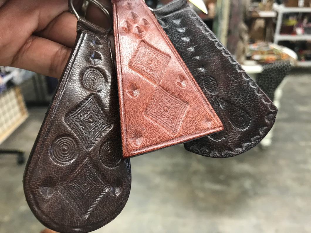 Touareg Key chain Leather