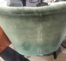 Green Velour Chair