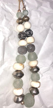 African Trade Beads Necklace