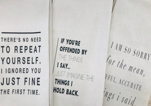 Tea Towels Monahan Papers