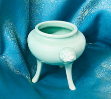 Faux Celadon Essential Oil Burner- Foo Dog