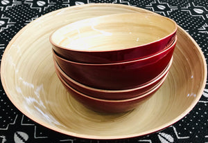 Eco-Friendly Bamboo Bowls