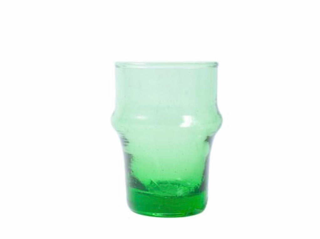 Kiss That Frog - Beldi Espresso Glass - Green