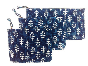 Personal Accessory Bags Set of 3
