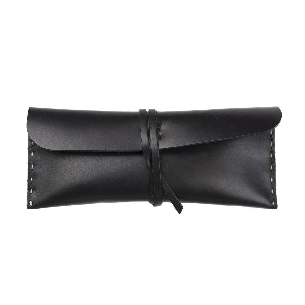 Stowaway Leather Pouch - Medium