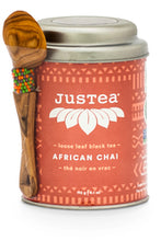 JusTea Organic Loose Leaf Tea