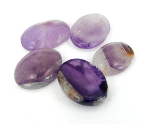 Amethyst- Worry Stones or Palm Stones