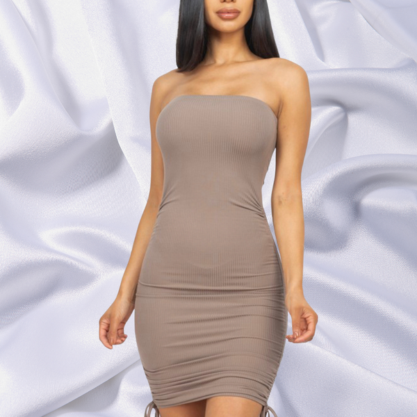 Nayeli Dress - Nude