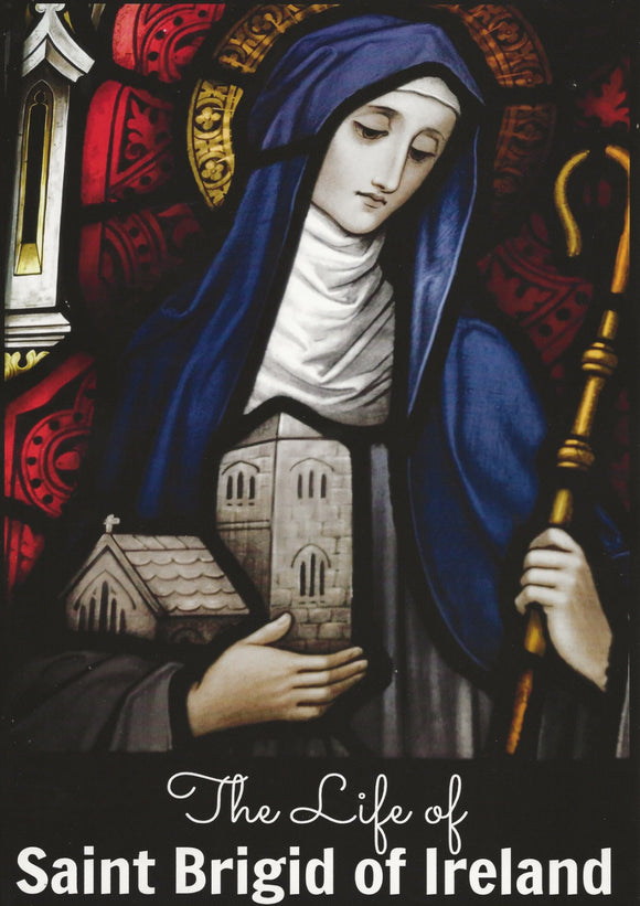 Free St. Brigid of Ireland Poster (Pay Postage)