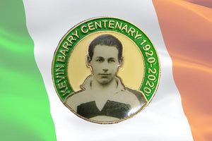 Kevin Barry Badge