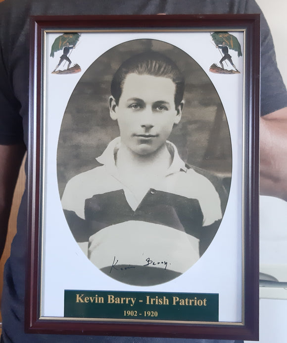 Signed Kevin Barry Potrait