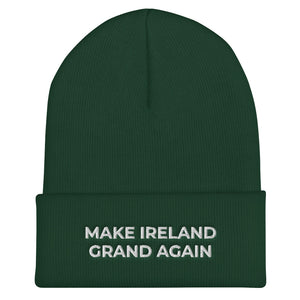 MIGA Beanie- Make Ireland Grand Again!