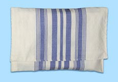 Tallit Bag: True Blue Stripes