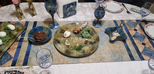 Seder Plate Round in Multiple Colors