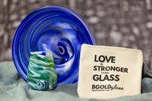 Load image into Gallery viewer, Deluxe Wedding Glass Set: T'naim Plate, Smash Glass, Choices of 3 Shared Art