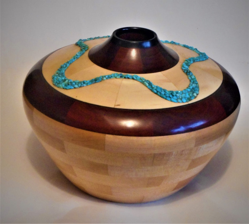 Southwest Turquoise Vessel