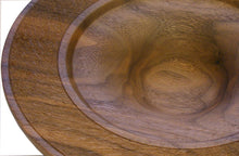 Load image into Gallery viewer, Wide Rimmed Walnut Bowl