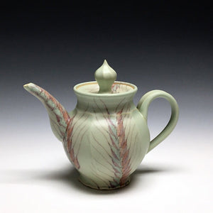 Flared Wheat Teapot