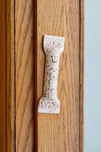 Load image into Gallery viewer, Antique Ceramic Mezuzah 1:  Small Shin