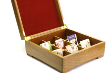 Load image into Gallery viewer, Wooden Mosaic Tea Chest