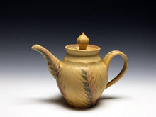 Load image into Gallery viewer, Flared Wheat Teapot