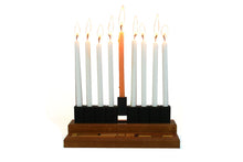 Load image into Gallery viewer, Travel Chanukah Menorah