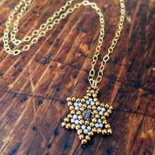 Load image into Gallery viewer, Jewish Star Pendant Necklace