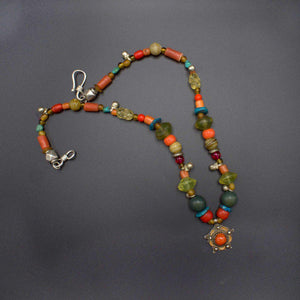 Moroccan Flower Necklace