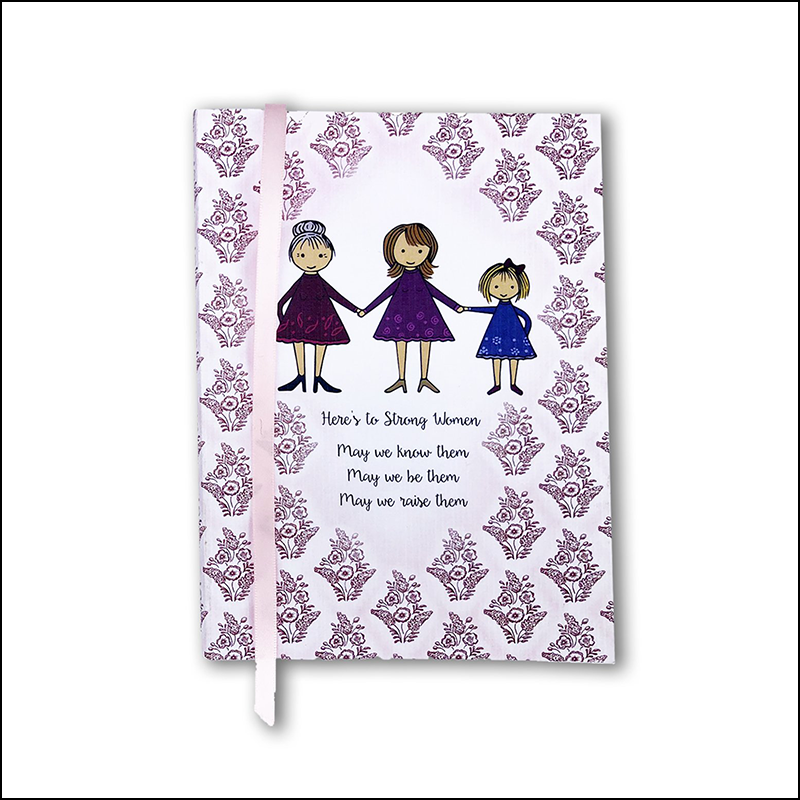 Strong Women Single Notebook