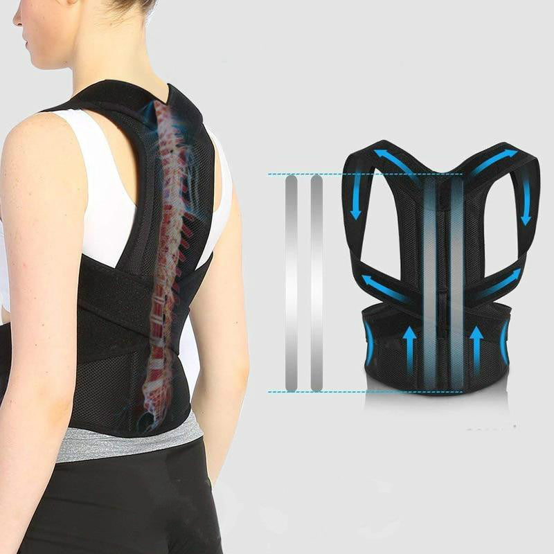 best posture support brace