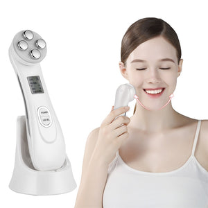 5 in 1 rf ems electroporation led light therapy for acne skin tightening