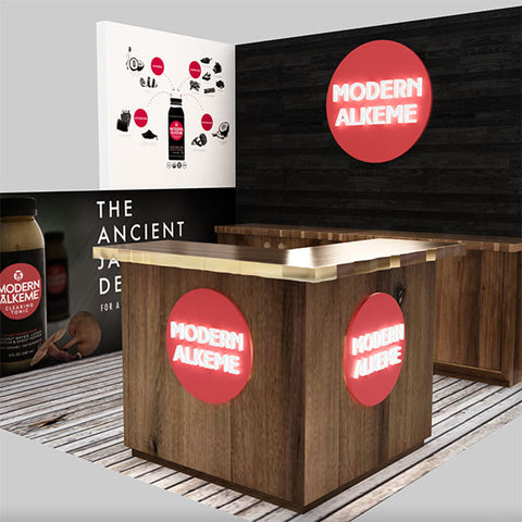 Incorporating your Brand's Aesthetic into Custom Tradeshow Booth Design