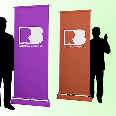 The Eco Rolla Tradeshow Banner Stand is Great for Organizations of All Sizes
