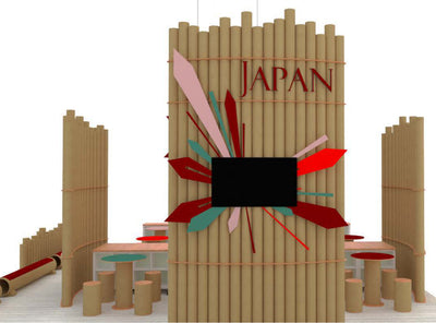 Booth Design for Japan Tourism Board