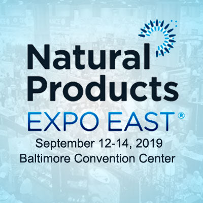 Food Industry Tradeshow Booth Design for the Natural Products Expo East