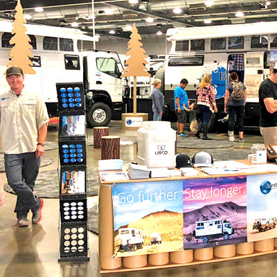Boothster Proud To Work With Earthcruiser On Their Ecofriendly Tradeshow Booth