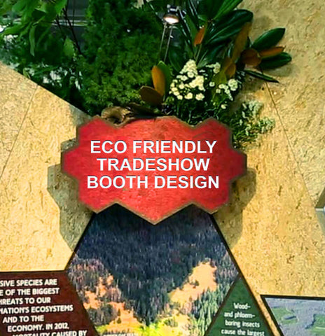 Getting started on your first ecofriendly custom tradeshow booth design
