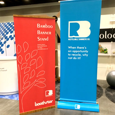 The New Standard for Recyclable and Ecofriendly Vertical Tradeshow Banner Stands
