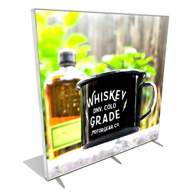 Celebrating Natural Aesthetic With Our New Reclaimed Wood Finish Tradeshow Lightbox Displays
