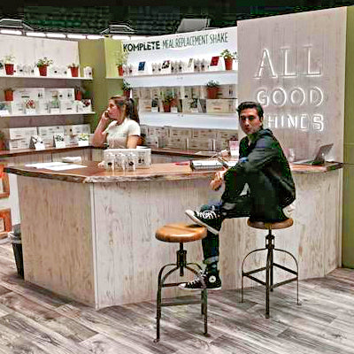 Accurately Representing Your Organization With Green Tradeshow Booth Design
