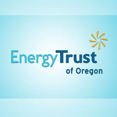 Boothster's Eco Rolla Green Tradeshow Banner Stands for the Energy Trust of Oregon and living a Sustainable Lifestyle