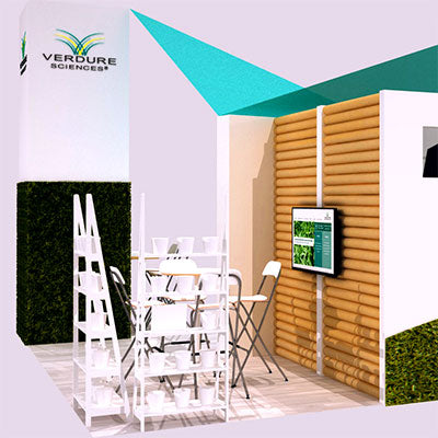 Sustainable Tradeshow Booth Design for a Visionary Natural Ingredients Company